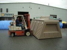 transportation of pedalpods
