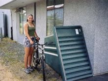 bicycle storage at home